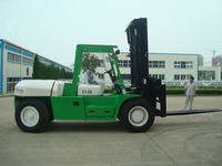 Shang hai China 11.5T diesel forklift for sale