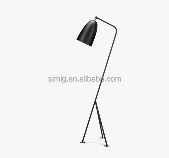 Designer Grasshopper Floor Lamp black color