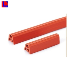 Custom color extruded profile heat-resistant silicone rubber seal strip