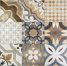 600*600mm moroccan cement tile decorative wall floor pattern tile