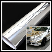ZSMELL Car Sticker Color Chrome Car Wrap Film Chrome Gold Car Wrap Vinyl 1.52m x 20m /Roll 5*65FT