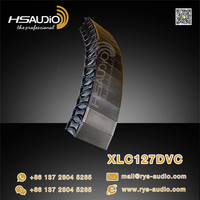 Three way 12 inch line array speakers prices XLC127DVC EV line array guangdong china factory