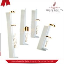 White packaging for 5ml/9ml/5ml cosmetic sets with mascara/eyeliner/eyelash/lipstick bottle/container/tubes/case