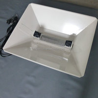 hydroponic grow light reflector hood