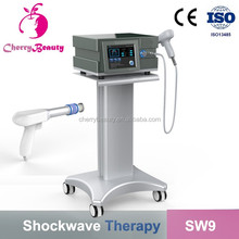 SW9 Best Radial Extracorporeal Shockwave Therapy ESWT/ Eswt Machine for Pain Relief