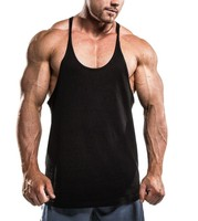 Men's Bodybuilding Stringer Vest/Gym Tank Top/Summer Training Vest