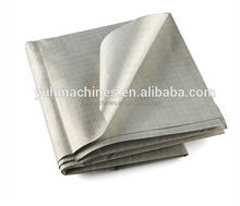Anti Radiation Electromagnetic Nickel Copper RFID Blocking Ripstop Conductive Fabric