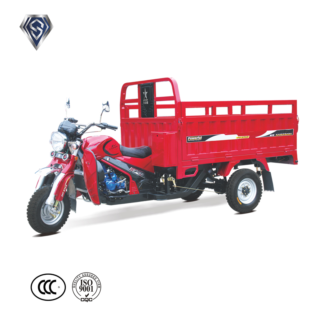 Red 250cc Wholesale 3 wheel Motorcycles For Transportation