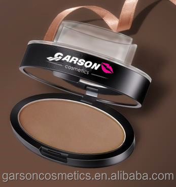 GARSON stamp make up seal the eyebrow powder waterproof no shading eyeshadow powder