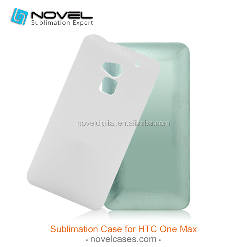 Hot sale!!! sublimation cell phone cases printing mold for 3D HTC one <strong>max</strong> , mould for sublimation