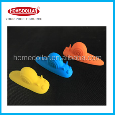 Household Snail Shaped Baby Safety Silicone Door Stopper Guard