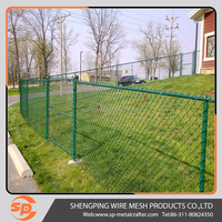 Guangzhou factory PVC coated metal security farm fence AAA