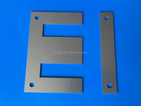 EI lamination with holes for transformer core