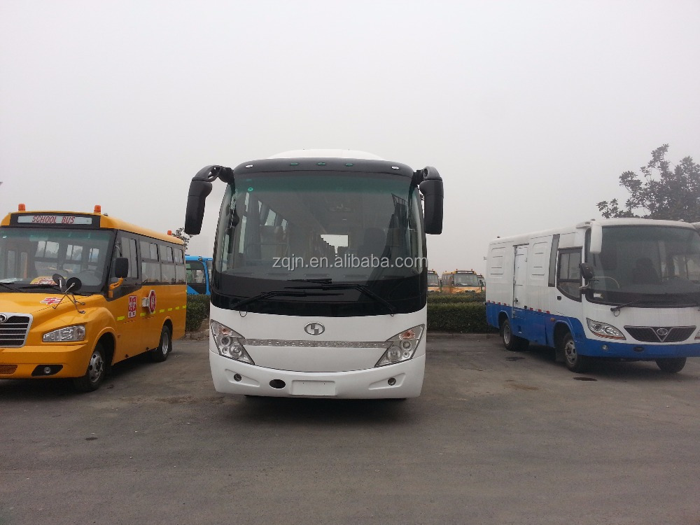 35 seats right hand luxury bus price chinese bus better than hyundai universe bus