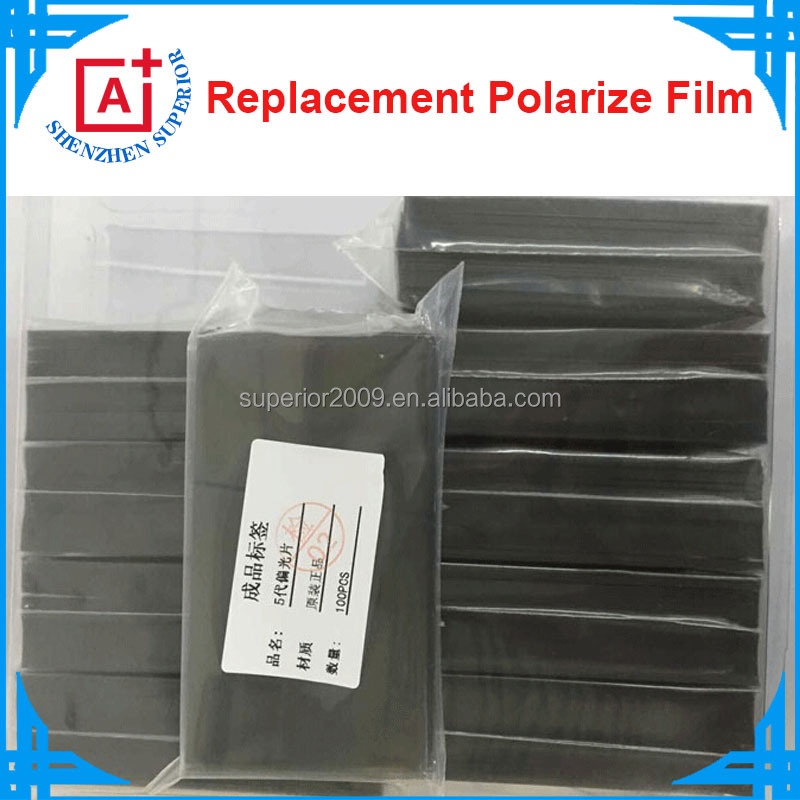 Replacement Lcd Panel Polarizer for samsung galaxy s4 Polarized film for lcd for iphone 5 5s 5c 6 6plus