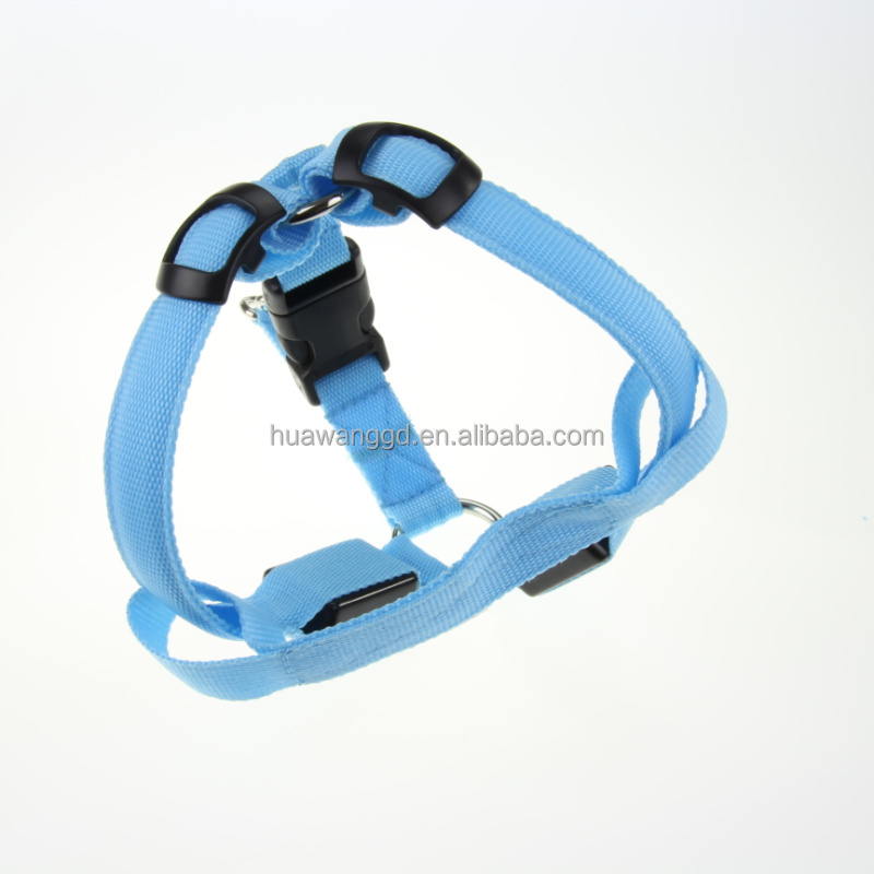 Safty Led flashing fluorescent harness for <strong>dog</strong>