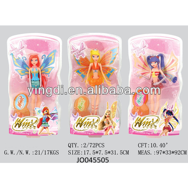 Winx pretty girl doll beauty fashion doll