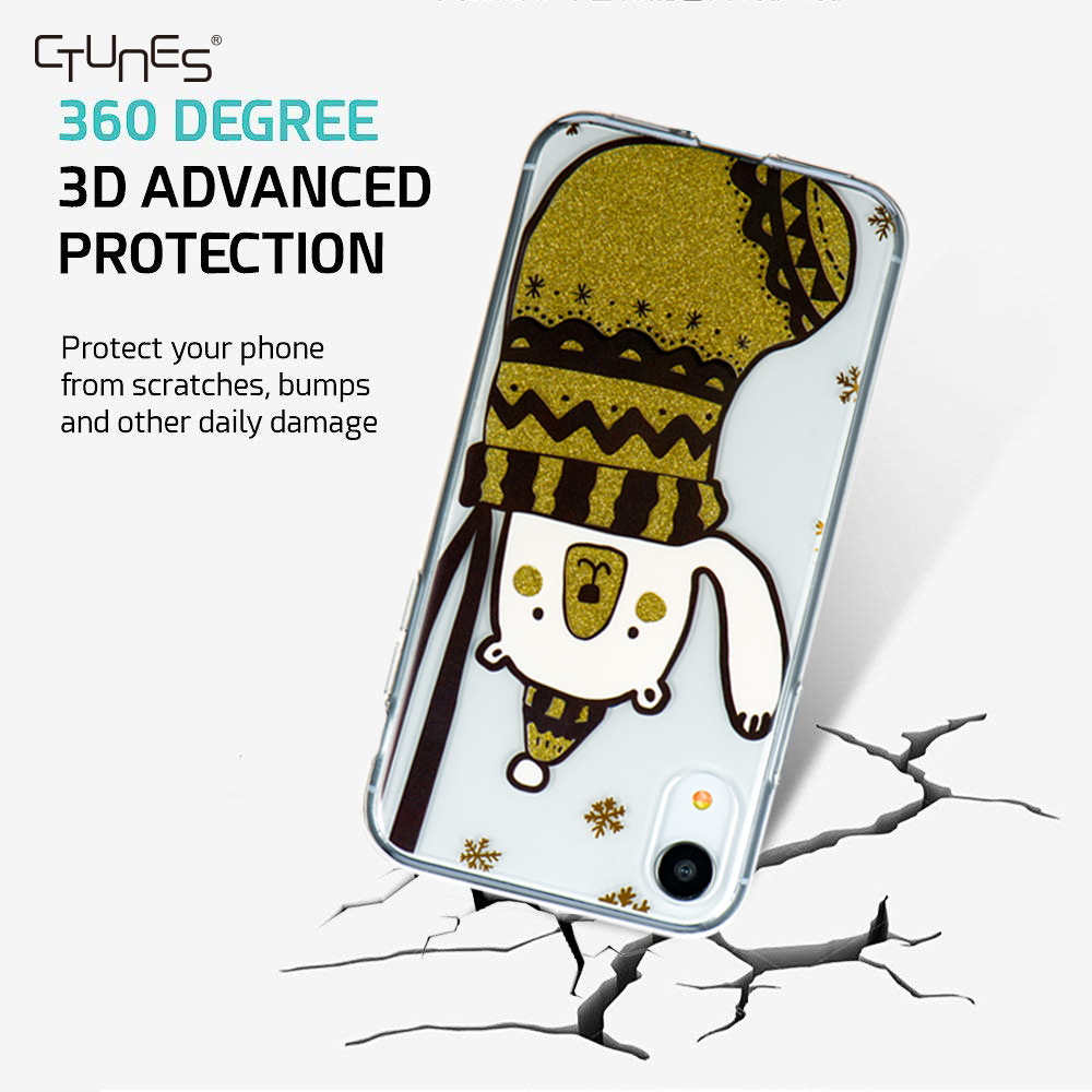 Wholesale Design Transparent Tpu Hard Back Shockproof Case Cover For Iphone 9/9 Plus