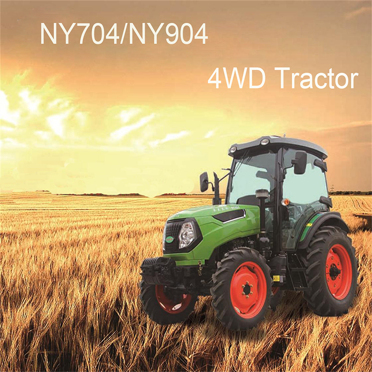 Cheap Agricultural Machinery Farm Tractor 70HP 4WD Tractor