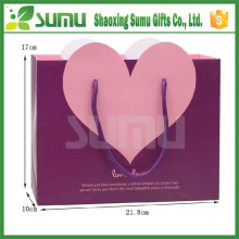 Custom shopping recyclable advertising gift paper bag