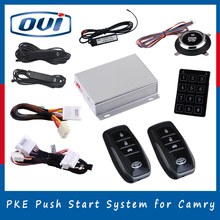 2016 new model plug and play smart phone control engine start stop button car keyless entry system for toyota carmy