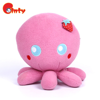 Pink octopus beautiful plush toys for crane machines