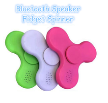 Bluetooth Audio Hand Spinner with LED Light and music can connect mobile phone rechargeable switchable Fidget Spinner