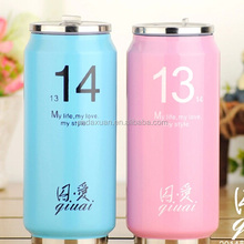 Double layer stainless steel vacuum coke cans Coke vacuum flask