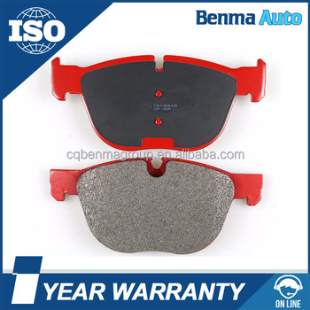auto disc brake pad,disc brake pad manufacturers, 34112283865 D918-7799 Benma Group