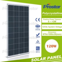 Top A grade poly 120v solar panel for house