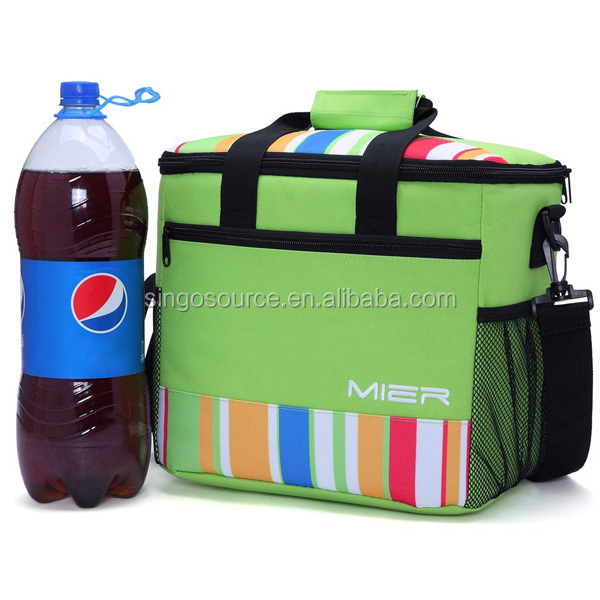 Cool Bag Picnic Cooler Bag Fashion 12 Can Cooler Lunch Bag with shoulder
