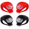 Newest bright silicone skull bicycle light,bike accessories