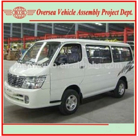 Left Hand Gasoline Engine New Manual Transmission Bigmt 6480A1 15 Passenger Mini Bus Price