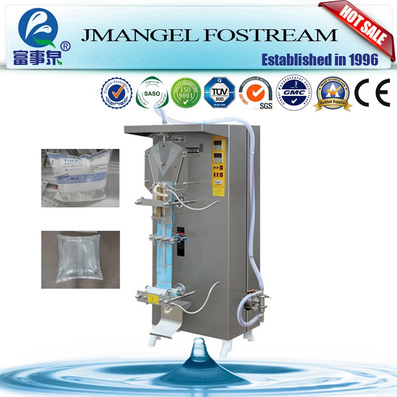 China Made Automatic Mineral Water Nylon Bag Packaging Machine