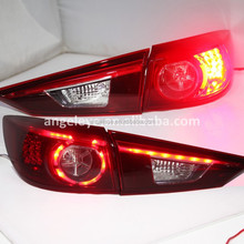 2014 to 2015 year For MAZDA 3 For Axela LED Tail Lamp Rear Lights For Mazda 3 Back lamps Red color