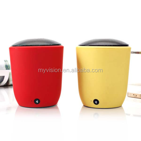 OEM/ODM logo customlized plastic material mini speaker for mp3 player mobile phone pc tablet