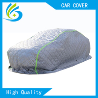 Manufacturer 5-6mm thicken padded inflatable hail proof automobile car cover