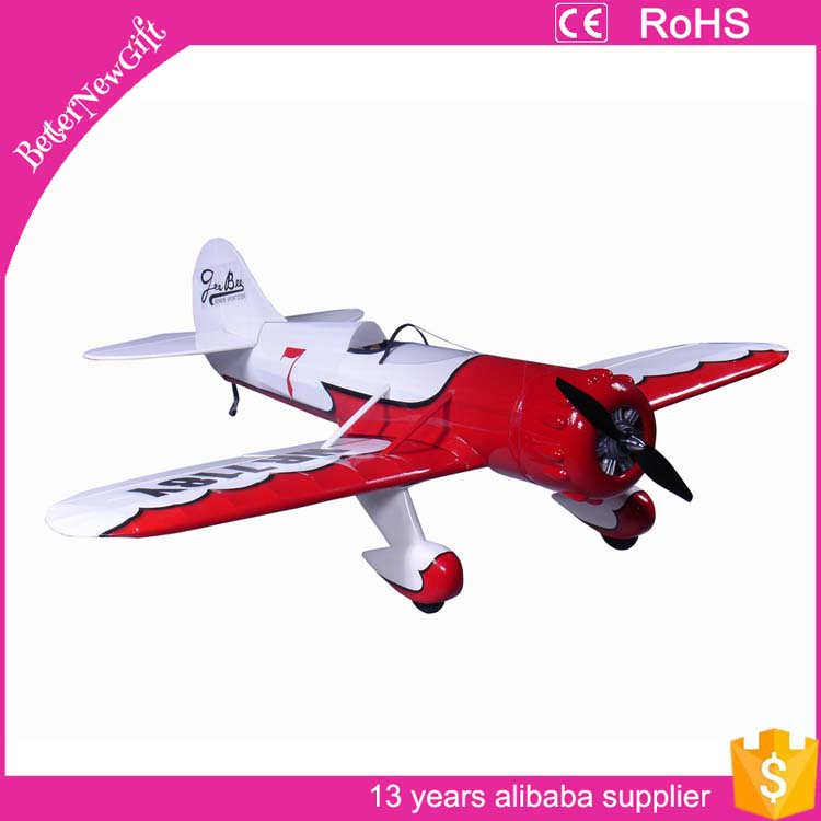 Electric RC bee gee plane model aircraft