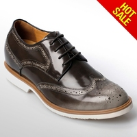 Maker For Genuine Leather Men Elevator Shoes