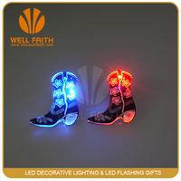 Glow in the dark Custom Novelty Badges, Gifts Item Led Display Badge