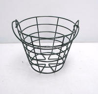 PVC Coated Painted Golf Ball Wire Basket