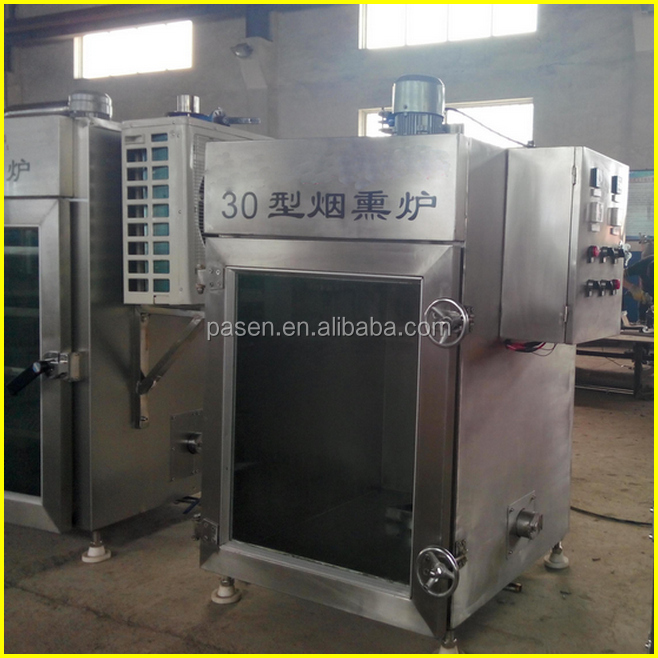 smoking fish equipment / meat smoking chamber