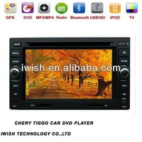 6.2 inch mp3 player for chery TIGGO support WIFI 3G internet