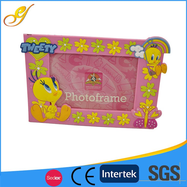 Wholesale Made in china photo frame, Hot Sell Beautiful PVC photo frame