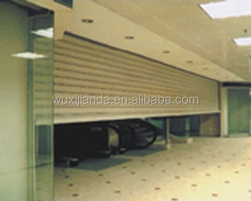 automatic exterior metal doors used for workshop/warehouse