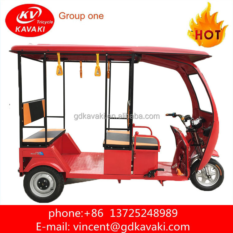 Best Selling Electric Trike For Passenger Use Auto Rickshaw Price In Banglad Tuk Tuk For Sale With Motorcycle Roof