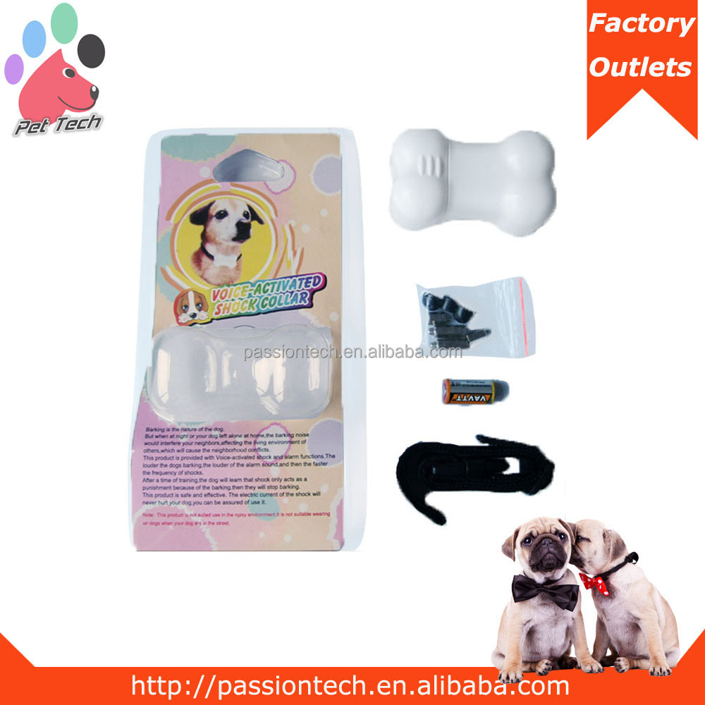 Passiontech A-110 Auto Anti Bark Dog Collar Electronic Anti-Bark Dog Training Shock Collar