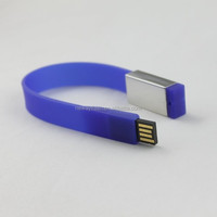 Wristband usb stick of bracelet bulk 1gb usb flash drives