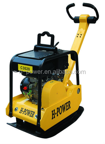 Heavy duty Hydraulic Reversible Plate Compactor C3020H with Honda GX160 engine(CE,EPA,GS)