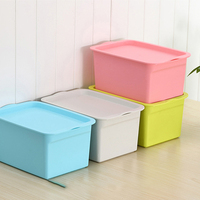 saving space hot sale Plastic Stackable Storage Bins with lid